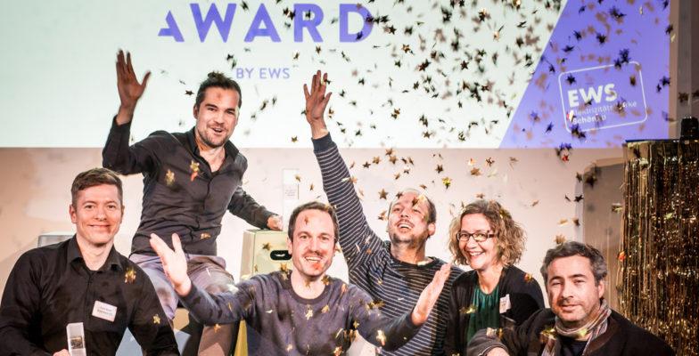 Gewinner und Jury des Make It Matter Awards im Rahmen des Demo Days 2019 vom >SMART> GREEN ACCELERATOR